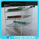 stationery display acrylic,plexiglass office stationery organizer