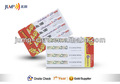 Papel e PVC Scratch pré pago mais cartão de telefone Pin