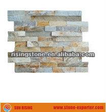 Yellow Wood Slate Tile