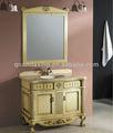 Solid banheiro mobiliário de madeira, branco a