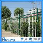 AEOMESH backyard metal fence palisade fence
