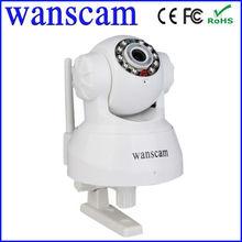 IR-CUT CMOS 300k Pixel M-JPEG WIFI,802.11 b/g/n motion activated wireless ip camera