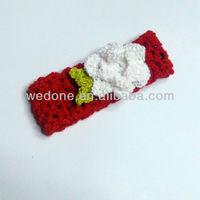 Fashion Crochet Headbands with flower for girls ,baby headbad