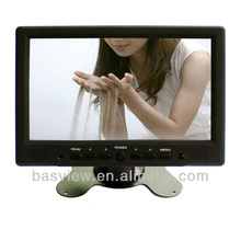 """DC 12V input 16:9 touch 7"""" lcd car monitor with HDMI Input"""