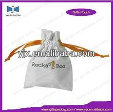Ribbon Drawstring Velvet Gift Bag