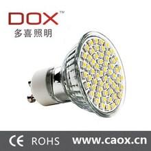gu10 warm white 60 smd led spot light bulb lamp