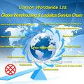 Serviço de frete marítimo e importação e exportação declaração aduaneira
