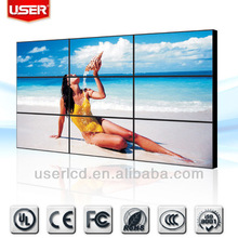 55inch indoor Sumsung/LG panel lcd/led backlight video wall