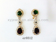 Latest diamond drop earrings teardrop earrings earring studs