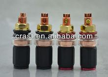 Acrolink Red copper short binding post