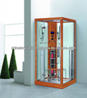 Bamboo infrared steam shower room single person K011