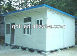 modular prefab color steel sheet metal houses