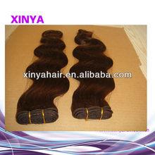 Wholesale #4 body wave weft remy wave Virgin Vietnam hair