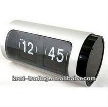 circular cylinder automatic flip clock WC105