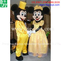 mickey minnie traje da mascote