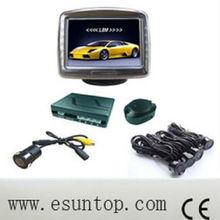 Hot 8 sensors Digital LED buzzer Car Parking Sensor System with CE and ROSH