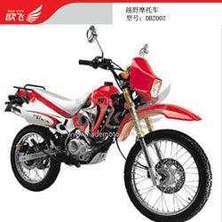 Gas-Powered Cheap 200CC 4-Stroke Dirt Bike with Spoke Wheel Rim