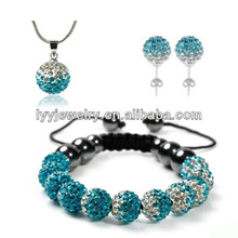 Hot Sale cheap shamballa jewelry set