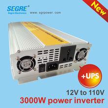3000w 12v to 110v UPS charger inverter battery assembling