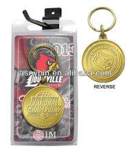 University 2013 NCAA Basketball National Champions Bronze Keychain