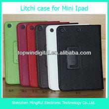 Litchi case for ipad mini