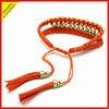 Handmade knotted friendship bracelets
