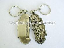World War Craft, zinc alloy metal keychain