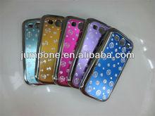 circle Shape hard Brushed case for Samsung Galaxy S3 III i9300