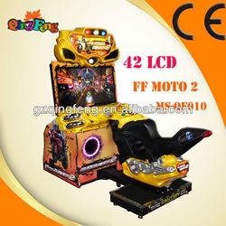 2013 popular sale arcade Driving car game machine MR-QF010 FF motor 42 LCD