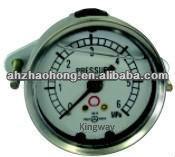43/53 Back mounting, Liquid filling & Vibration-proof pressure gauge