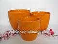 De color cerámica vidriada maceta, Garden planter