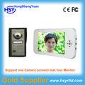 7 polegadas handsfree vídeo porteiro com foto de funções de memória