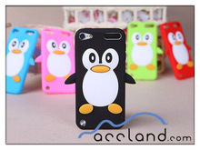 Penguin Silicone Case For iPod Touch 5 5G 5th Gen