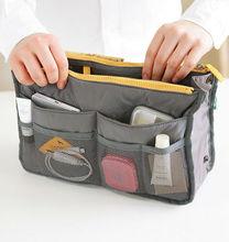 Lady Women Insert Handbag Organiser Purse Large liner Organizer Bag Tidy travel