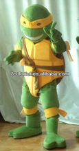 Moive character cartoon TMNT turtle mascot costume