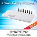Gateway gsm 8 sim carte scatola, supporto cambioimei goip- 8