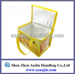 China Shenzhen large insulated lunch / tote bag