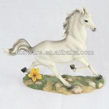 Polyresin horse ,running resin horse