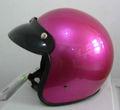 visera del casco rojo de la rosa color de la motocicleta para la venta caliente