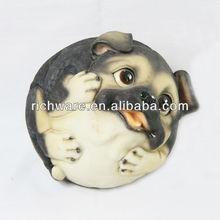 Resin dog ,polyresin animal ornaments