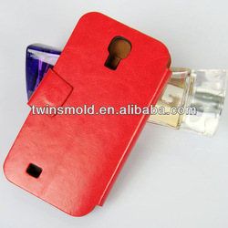 Hot selling wallet mobile phone leather case for Samsung S4 Galaxy i9500