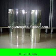 transparent heat seal petg plastic film