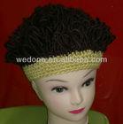 2013 Knit crochet wig caps and hats, Head wrap, human hair wig caps