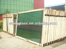 4mm,5mm,6mm,8mm Dark Green Reflective Glass