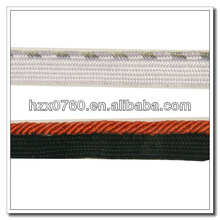 Polyester / Nylon Jacquard industrial webbing for shoes