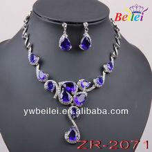 (min order $15) New arrival zircon jewelry sets ,nice zircon jewelry sets