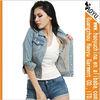 Cheap china clothing women denim jacket designer jackets women 2013 (HYWJ176)