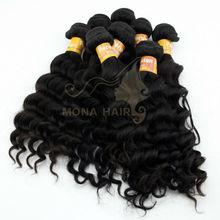 Wholesale Virgin Nature Peruvian Hair,Body wave hair, Deep Curly virgin Peru Hair