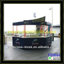 Outdoor Fast food Frozen Yogurt Kiosk Food Design Manufacturer in shenzhen China