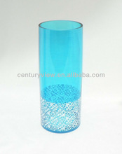 Colored Glass Vases For Wedding Centerpiece